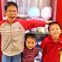 —mum of Jackie (age 10, My P5 English Class), Javier (age 4, My Reading Readiness Class) and Jarald (age 6, My P1 English Class)